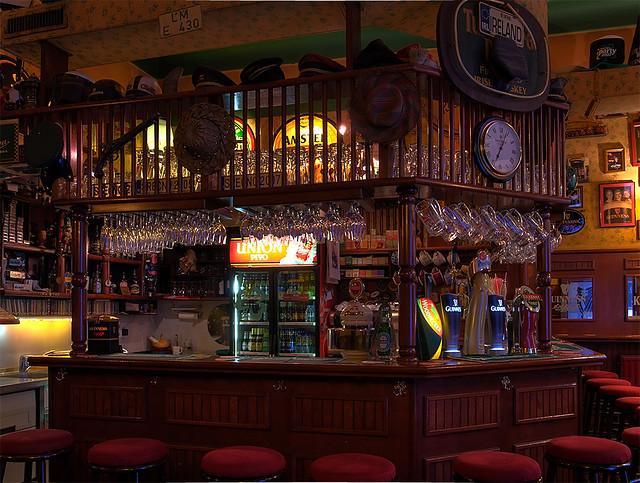 A pub interior guinness ljubljana one more for