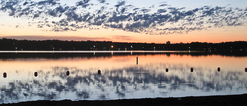 summer solstice sunset over lake harriet | by Kim | Affairs of Living