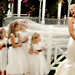 Bride and Flowergirls at Palms Gazebo