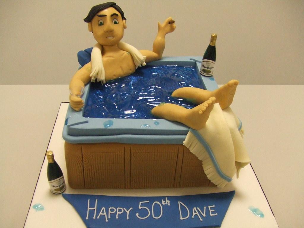 CAKE - Hot tub Dave!! | by Jules | Jules enquiries ...