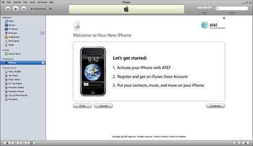 Iphone Activation Screen