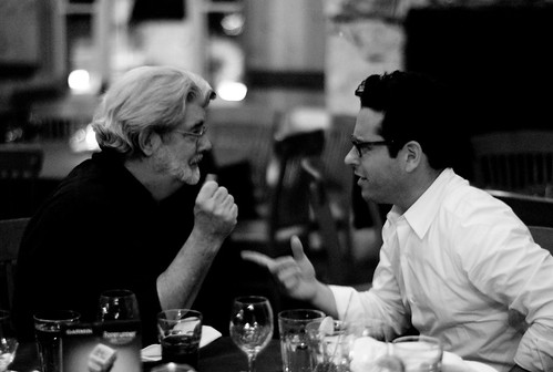 George Lucas and JJ Abrams | by Joi
