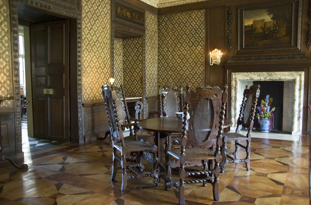 The marble dining room ham house richmond surrey flickr for Dining room c house of commons