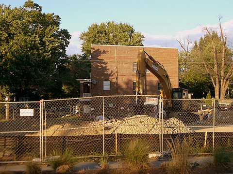 Outer Circle/Round Table Restaurant demolition | by digitallydc