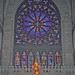 The Western Rose Window in the Cathedral of The Sacred Heart, Newark, New Jersey