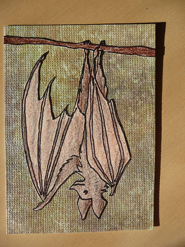 friendly batty | by leiapico_art