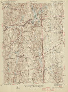 East Killingly Quadrangle 1945 - USGS Topographic 1:31,680 | by uconnlibrariesmagic