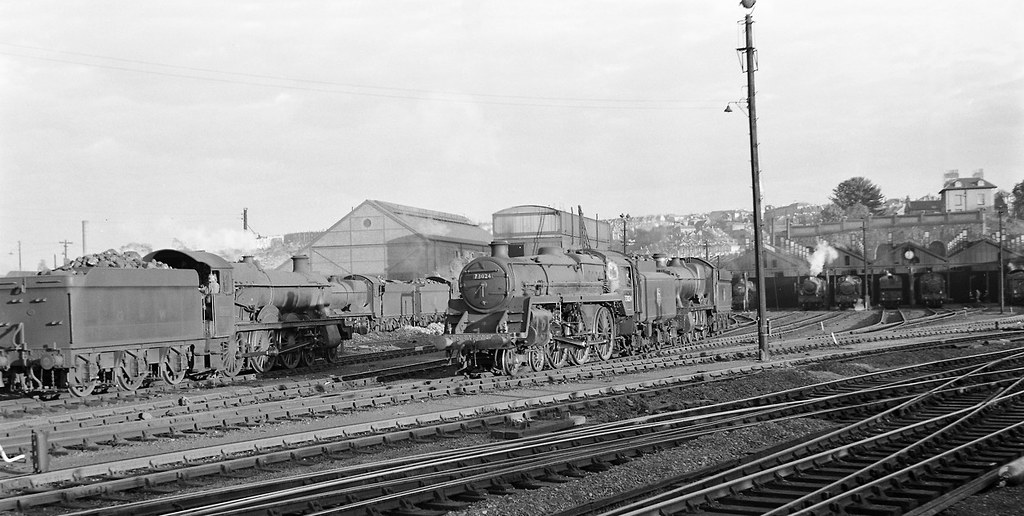 Bristol Bath Road Depot 3rd September 1955 By John Wiltshi