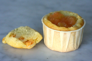Cantaloupe Cupcake with Cantaloupe Filling | by chockylit