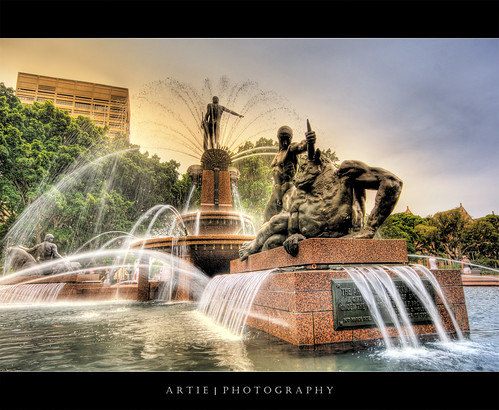 The Archibald Fountain, Sydney :: HDR | by :: Artie | Photography :: Cya in Sept!