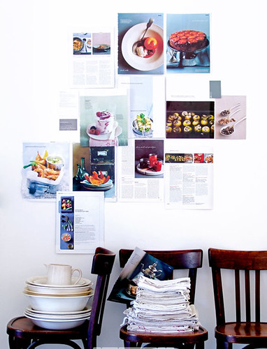 recipes as wall decoration | by the style files
