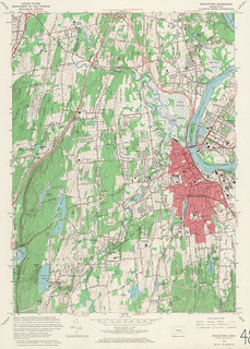 Middletown Quadrangle 1965 - USGS Topographic Map 1:24,000 | by uconnlibrariesmagic