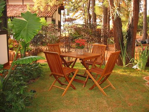 mesa de jardim jumbo : mesa de jardim jumbo:Jardim Secreto: Mesa para o chá