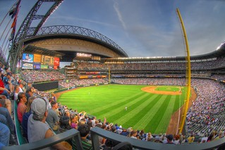 Safeco Field Fisheye HDR | by ArtBrom