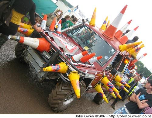 Traffic Cone Car Or Hedgehog Twuble Flickr