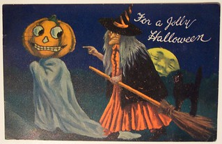 Vintage Halloween Postcard      Valentine and sons | by riptheskull