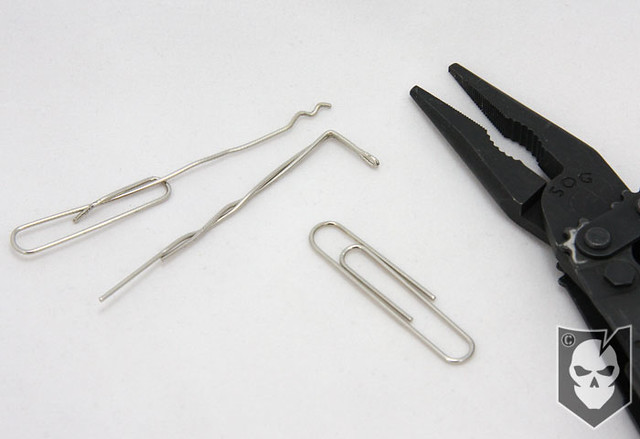 Paperclip Lock Pick 01 Learn How To Create An Emergency