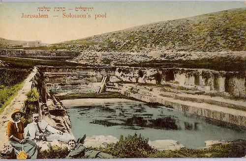 Report From Jerusalem >> Israel Jerusalem Hebron Solomon's Pool Jewish scan1576 | Flickr - Photo Sharing!