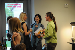 Faculty mingling at the 2009 Celebration of Faculty Accomplishments | by California State University Channel Islands