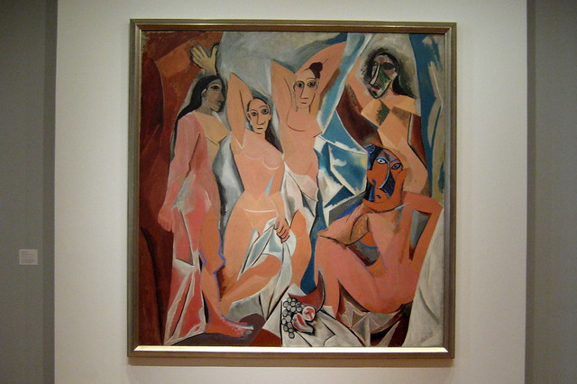 les demoiselles d avignon and cubism It is said that les demoiselles d'avignon is the first real cubist painting created  from a number of influences, the image depicts five whores.