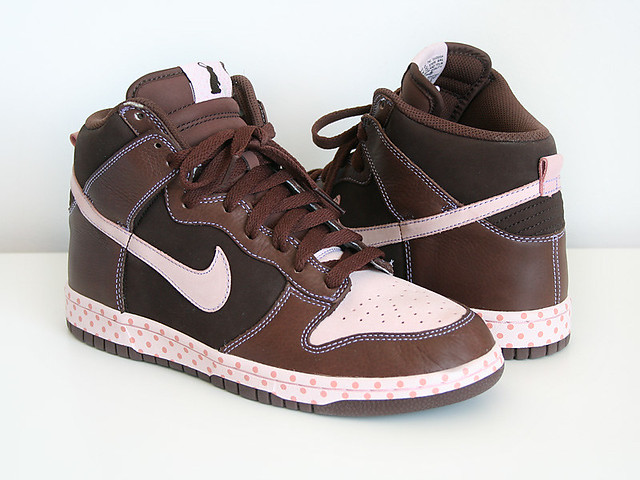finest selection 2d258 ae041 Nike Dunk High Chocolate Easter Bunny  by KRSE ...