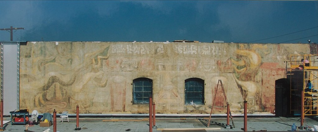el pueblo siqueiros mural america tropical