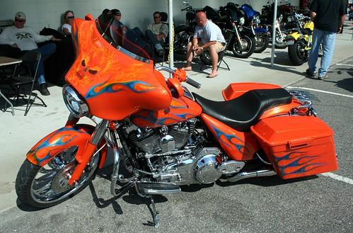 Harley Davidson Motorcycle Fleece Fabric