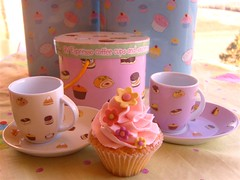 Espresso cups & saucers by ~Très Chic Cupcakes by ShamsD~