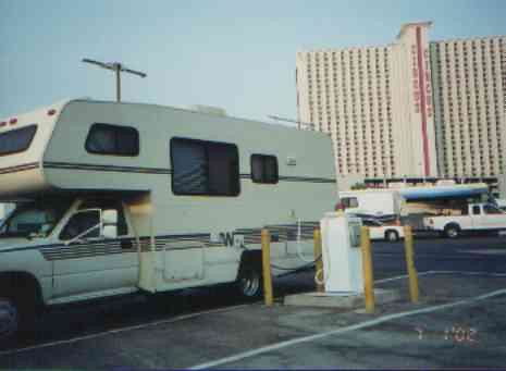 las vegas casino free rv parking