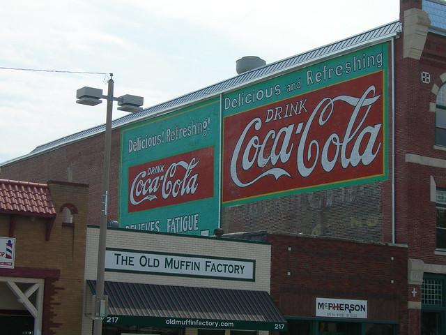 Coca cola mural mcpherson kansas by jimmywayne for Coca cola wall mural