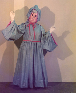 1973 Cinderella's Fairy Godmother at Disneyland | by Miehana