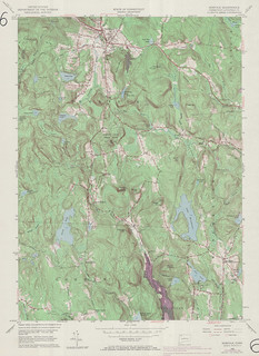 Norfolk Quadrangle 1969 - USGS Topographic Map 1:24,000 | by uconnlibrariesmagic