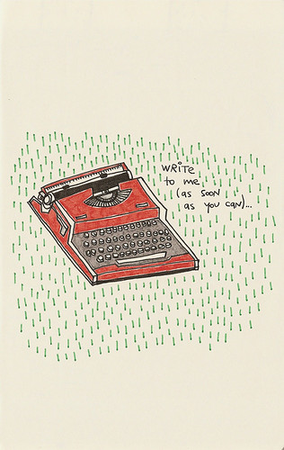 write to me (as soon as you can)... | by .naa.