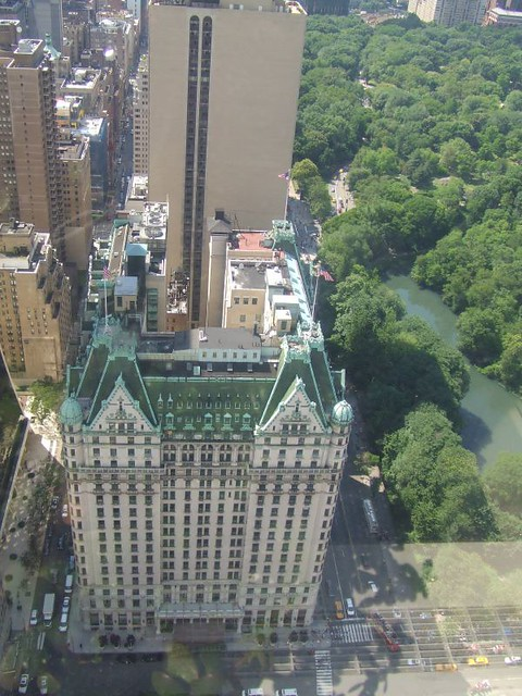 Plaza Hotel Aerial View And Parts Of Central Park Flickr