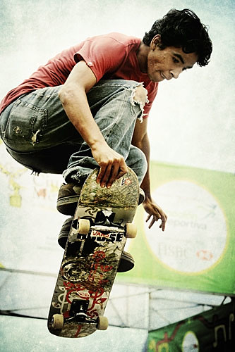 Skateboarding | by WakamouL