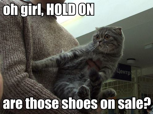 Oh Girl Hold On Are Those Shoes On Sale