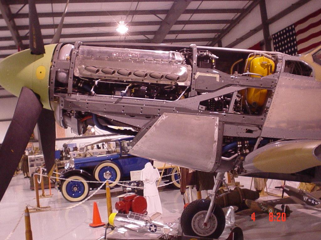 Packard   Rolls V1649 Merlin      12      cylinder    liquidcooled engi      Flickr
