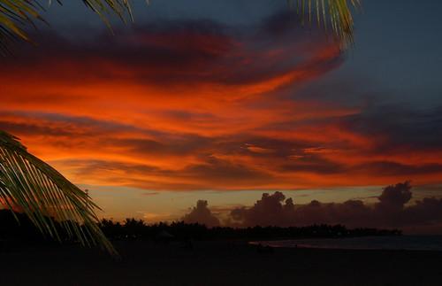 fiery glow burning sunset - photo #46