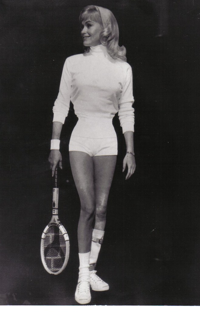 Karen Steele 003 Karen Was Once A Tennis Champion In