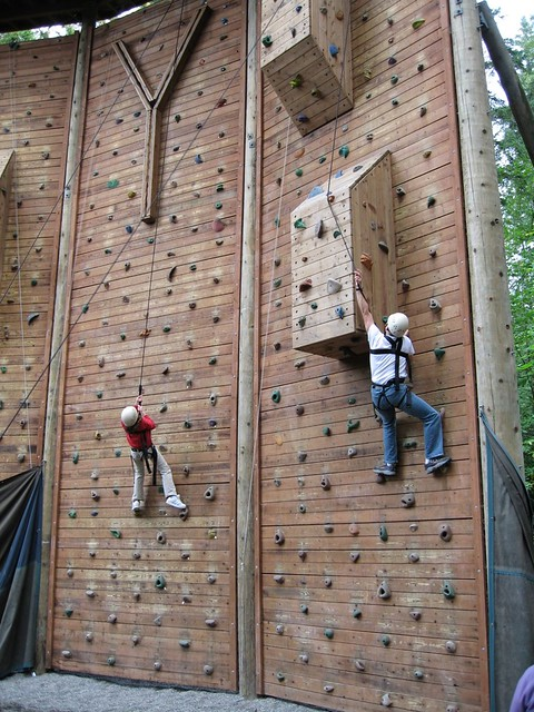 Ymca Camp Seymour Climbing Wall Leif Hansen Flickr