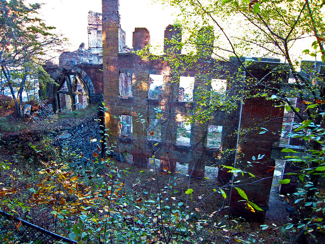 Ruins Of A Pre Civil War Mill