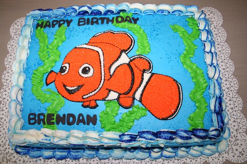 Pictures Of Nemo Birthday Cakes
