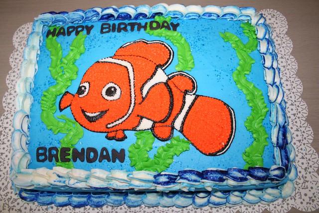 Finding Nemo Birthday Cake Please Let Me Know What You Thi Flickr - Finding nemo birthday cake
