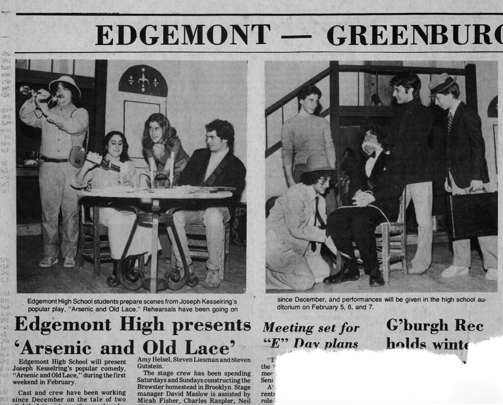 Edgemont High School Performance Clipping From The