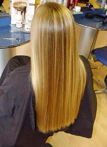 how to get long silky hair