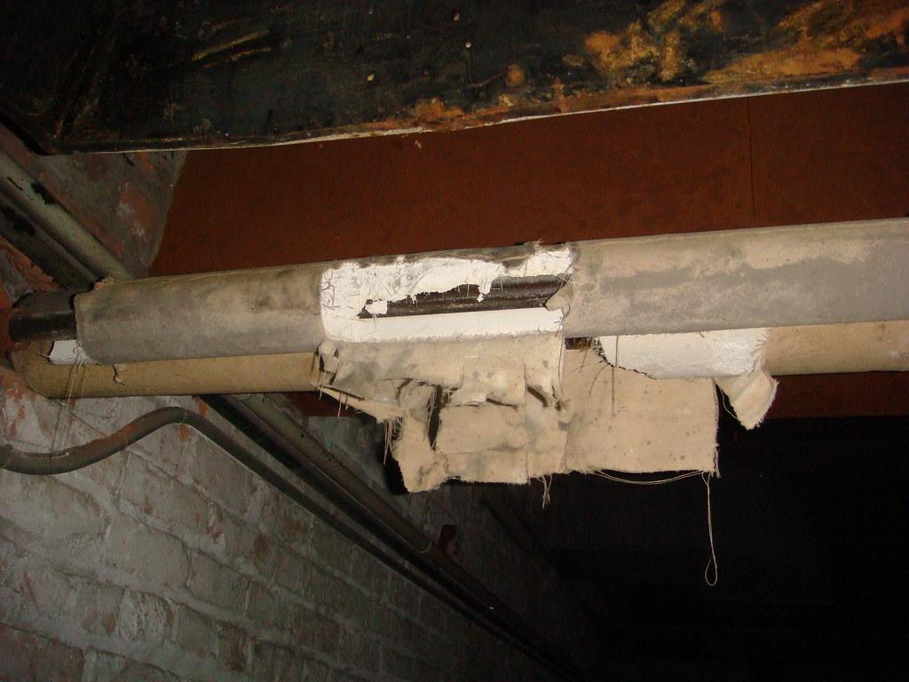 Calcium Silicate Rope : Non asbestos pipe insulation looks like
