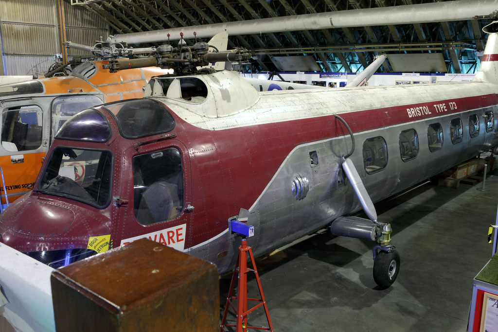 Bristol Type 173 Twin Rotor Helicopter C1952 13 Seat
