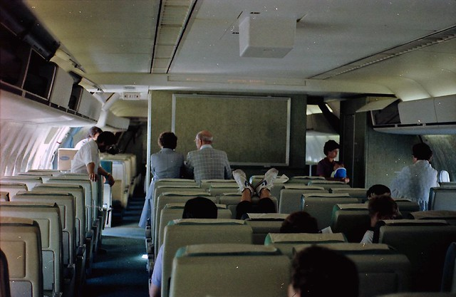 Dc 10 Cabin View Of An Old Northwest Orient Dc 10 40