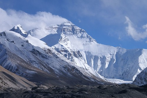 Mount Everest from base camp one | by Rupert Taylor-Price