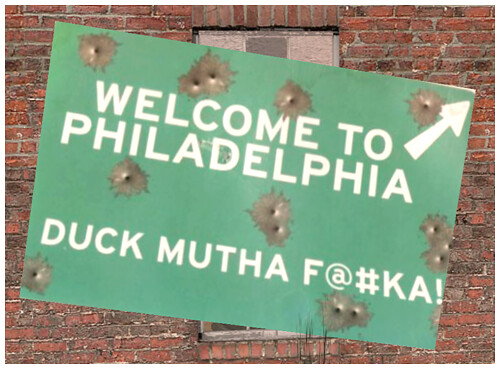 Image result for welcome to philadelphia duck mutha